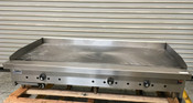 """NEW 60"""" Thermostat Gas Griddle Flat Top Plancha Grill Stratus STG-60 #5829"""