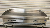 "NEW 48"" Thermostat Gas Griddle Flat Top Plancha Grill Stratus STG-48 #5828"