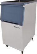 NEW 300 LB Ice Machine Storage Bin Insulated Stainless Steel Blue Air BLB-300S #6030
