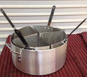 Pasta Cooker & Baskets 20 QT New #1917 ALSKPC112
