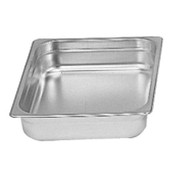"1/2 Size Stainless Steel Insert Pan 2 1/2"" Deep THUNDER GROUP STPA8122 (NEW) #6351"