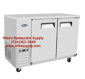 "NEW 59"" Back Bar Cooler Solid Stainless Steel Refrigerator NSF Atosa MBB59GR #6778"