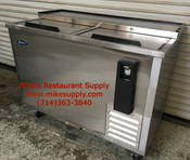 "50"" Bottle Box Beer Cooler 2 Door Atosa MBC50 NEW #6784"