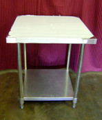NEW 24X36 Work Table NSF Stainless Steel Top Galvanized Bottom #6981
