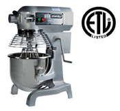 20 QT Electric Mixer & Accessories UNIWORLD UPM-20E NEW #3860