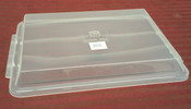 NEW 1/4 Sheet Pan Plastic Lid 10x13 Thunder Group PLSP1013C #2168