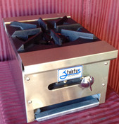 "NEW 12"" Hot Plate 1 Gas Burner Stratus SHP-12-1 LP Propane #7145"