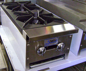 "12"" 2 Burner Hot Plate SHP-12-2 LP Propane NEW #7146"