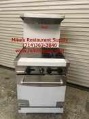"24"" Range 2 Burner 12"" Griddle & Gas Oven Stratus SR-2G12 NEW #7225"