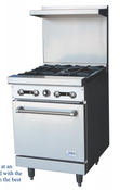"NEW 24"" LP Propane Range 4 Burner & Gas Oven Base Stratus SR-4LP #7264"