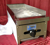 """12"""" Flat Top Griddle SMG-12 LP Propane NEW #7150"""