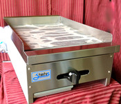 "18"" Griddle LP Propane Flat Top Grill Stratus SMG-18LP #7151"