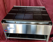 """NEW 24"""" Lava Rock Char Broiler LP Propane Grill Burger BBQ Stratus SCB-24  #7166"""