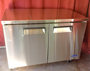 "48"" 2 Door Under Counter Freezer MGF8406 (NEW) #1235"