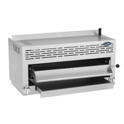 "NEW 36"" Gas Salamander Broiler Dual Ceramic Infrared Burners Stainless Steel Atosa ATSB-36 #7616"