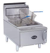 NEW 25 LB Counter Top Gas Deep Fat Fryer Royal RCF-25 NSF #2026