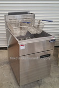 50 LB S/S Gas Fryer ATFS-50 (NEW) #2553