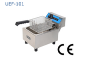 NEW Single Basket Counter Top Electric Deep Fat Fryer Uniworld UEF-101 #2787