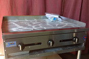 """36"""" Flat Top Griddle SMG-36 NG Gas (NEW) #1179"""