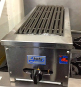 "NEW 12"" Radiant Char Broiler Gas Grill Stratus SRB-12 #1051"