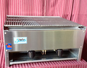 "NEW 24"" Lava Rock Char Broiler Gas Grill NSF Stratus SCB-24 #1120"