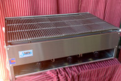 "36"" Lava Rock Char Broiler Grill SCB-36 NG Gas (NEW) #1184"