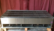 "NEW 48"" Lava Rock Gas Char Broiler Grill Stratus SCB-48 #1227"