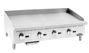 """NEW 48"""" Manual Griddle Plancha 3/4"""" Thick Polished Plate Stainless Steel Atosa ATMG-48 #2551"""