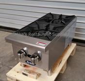 "12"" 2 Burner Hot Plate ATHP-12-2 (NEW) #2546"