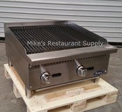 "24"" Char-Rock Broiler ATCB-24 (NEW) #2543"