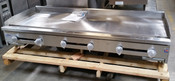 "72"" Flat Top Griddle w/ 1"" Plate SMG-72 NG Gas (NEW) #2897"