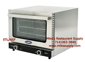 NEW 1/4 Sheet Mini Convection Oven Electric ETL/NSF Atosa CRCC-25 #8425