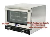 1/4 Sheet Mini Convection Oven Electric ETL/NSF Atosa CRCC-25 NEW #8425