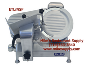 "12"" Heavy Duty Commercial Manual Meat Slicer ETL/NSF Atosa PPSL-12HD NEW #8430"