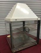 Hot Food Warming Pizza Display Cabinet #9343