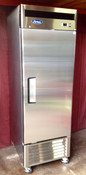 "NEW 1 Door 27"" Freezer Solid Stainless Steel Reach In NSF Atosa MBF8501GR #1821"