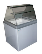 4 Facing Dipper Ice Cream Dipping Cabinet HBD-4HC NEW #9671
