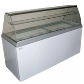 NEW 10 Flavor Ice Cream Dipping Cabinet Freezer NSF Excellence HBD-10HC #9674
