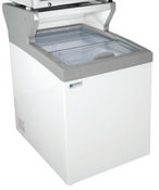"25"" Freezer and Ice Cream Freezer with Merchandising Platform MCT-2HC NEW #9703"