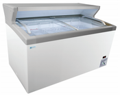 "74"" Freezer and Ice Cream Freezer with Merchandising Platform MCT-6HC NEW #9706"