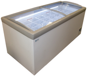 "NEW 74"" Jumbo Ice Cream Freezer & Display Chest NSF Excellence HM-23HC #9707"