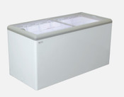 "NEW 71"" Sliding Flat Lid Cooler Freezer NSF Excellence HB-20HCD #9713"