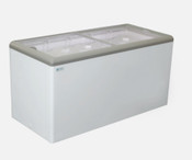 "NEW 60"" Sliding Flat Glass Top Lid Ice Cream Freezer NSF Excellence HL-17HC #9718"