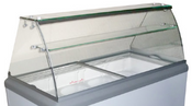NEW Curved Glass Canopy for HB/HL-14 Dipping Cabinet Excellence C-8 #9722