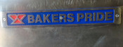 Bakers Pride Name Plate Pizza Oven Metal Badge NEW #1319