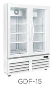 """36"""" Glass Door Freezer GDF-15 NEW #9739"""