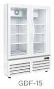 "36"" Glass Door Freezer GDF-15 NEW #9739"
