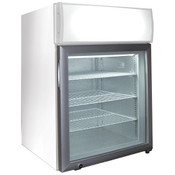 "NEW 22.5"" Countertop Display 1 Glass Door Freezer Excellence CTF-2HCMS #9744"