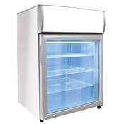 "NEW 24"" Countertop Glass Door Display Freezer Excellence CTF-4HCMS #9745"