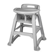Stackable Plastic High Chair Winco CHH-25 NEW #9916